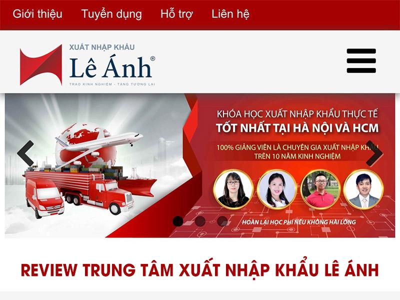 Review trung tâm xuất nhập khẩu Lê Ánh