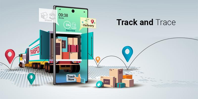 Vận dụng Track trace trong vận tải hàng hóa
